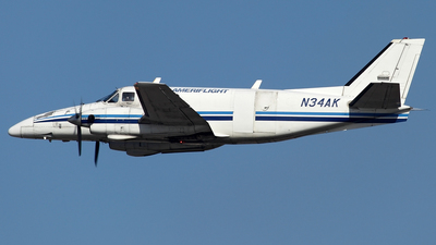 N34AK - Beech B99 Airliner - Ameriflight