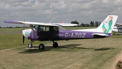 G-AZOZ - Reims-Cessna FRA150L Aerobat - Private