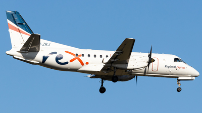 A picture of VHZRJ - Saab 340B - Regional Express - © ChrisLait