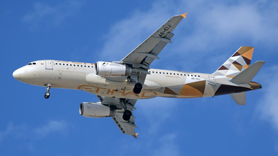 A6-EIJ - Airbus A320-232 - Etihad Airways