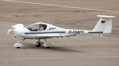 A picture of DEMPY - Diamond DA20A1 Katana - [10112] - © Peter Menner