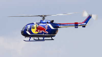 N154EH - MBB Bo105S - Red Bull North America