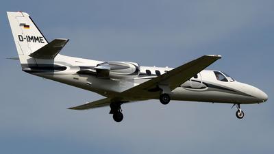 A picture of DIMME - Cessna 551 Citation IISP - [5510400] - © Günter Reichwein