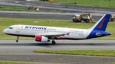 SP-ACK - Airbus A320-232 - Syphax Airlines (Bingo Airways)