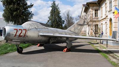727 - Mikoyan-Gurevich MiG-15 Fagot - Romania - Air Force
