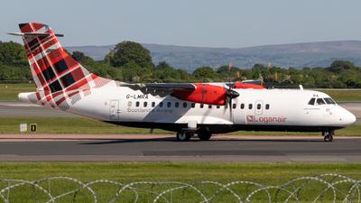 G-LMRA - ATR 42-500 - Loganair