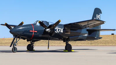 N7629C - Grumman F7F Tigercat - Private