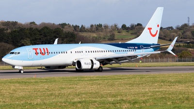A picture of GFDZR - Boeing 7378K5 - TUI fly - © Dominic Hall