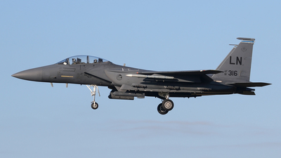 91-0316 - McDonnell Douglas F-15E Strike Eagle - United States - US Air Force (USAF)