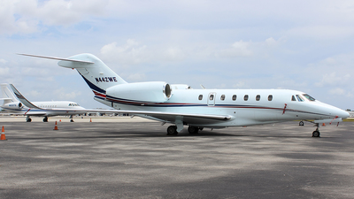 N442WE - Cessna 750 Citation X - Private