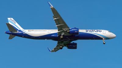 VT-IUX - Airbus A321-271NX - IndiGo Airlines