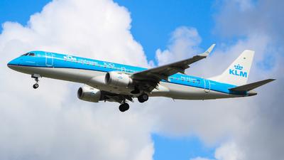 A picture of PHEZU - Embraer E190STD - KLM - © Jamie PD