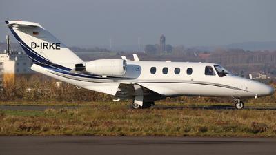 D-IRKE - Cessna 525 CitationJet 1 - Triple Alpha Luftfahrt