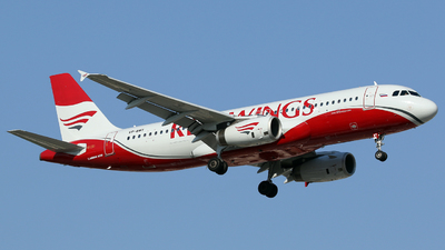 VP-BWY - Airbus A320-232 - Red Wings