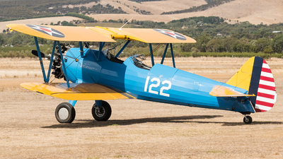 VH-SNM - Boeing A75N1 Stearman - Private