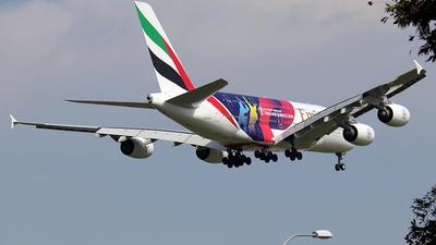 A6-EOH - Airbus A380-861 - Emirates