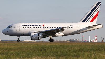 F-GUGC - Airbus A318-111 - Air France