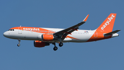 OE-ICZ - Airbus A320-214 - easyJet Europe
