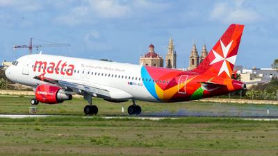 9H-AEQ - Airbus A320-214 - Air Malta