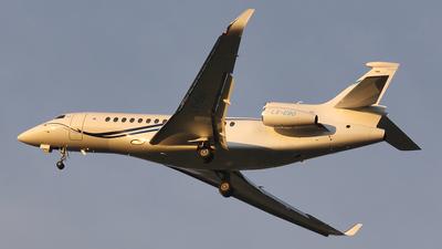 LX-EBO - Dassault Falcon 8X - Global Jet Luxembourg