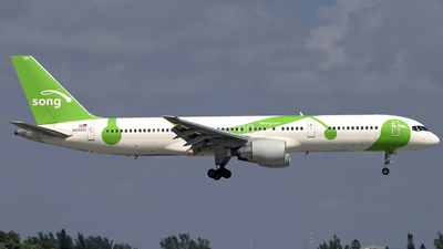 N694DL - Boeing 757-232 - Song