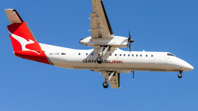 VH-TQK - Bombardier Dash 8-Q315 - QantasLink (Eastern Australia Airlines)