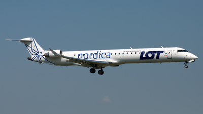 ES-ACI - Bombardier CRJ-900ER - LOT Polish Airlines (Nordica)