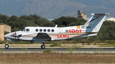 EC-IUX - Beechcraft 200 Super King Air - Inaer