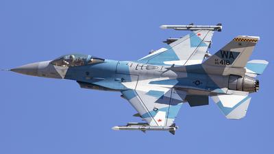 85-1418 - Lockheed Martin F-16C Fighting Falcon - United States - US Air Force (USAF)