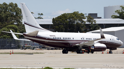 N800KS - Boeing 737-7BC(BBJ) - Private