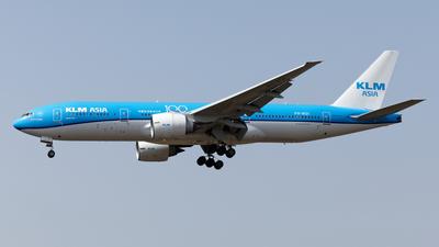 A picture of PHBQI - Boeing 777206(ER) - KLM - © Mitsuhiro Yamamoto