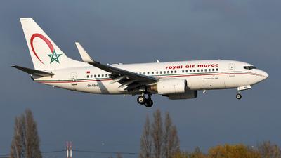 CN-RNV - Boeing 737-7B6 - Royal Air Maroc (RAM)
