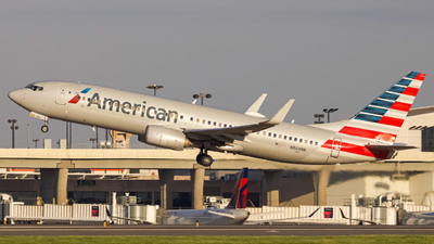 A picture of N804NN - Boeing 737823 - American Airlines - © Sef Wright