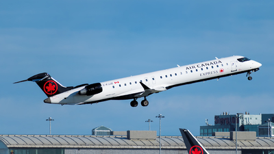C-FJJZ - Bombardier CRJ-900LR - Air Canada Express (Jazz Aviation)