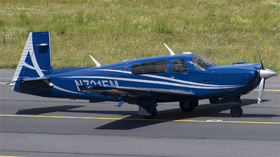 N721EM - Mooney M20TN Acclaim - Private