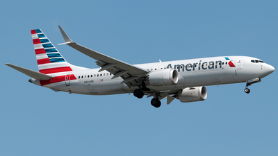 A picture of N304RB - Boeing 737 MAX 8 - American Airlines - © William Suárez Carrasquillo
