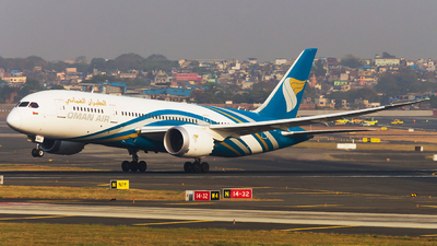A picture of A4OSB - Boeing 7878 Dreamliner - Oman Air - © Akshay M