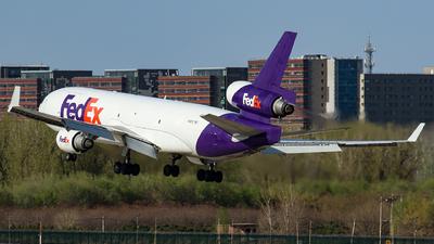 A picture of N618FE - McDonnell Douglas MD11F - FedEx - © kuailedeann