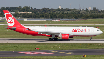 D-ALPB - Airbus A330-223 - Air Berlin