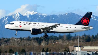 A picture of CFZQS - Airbus A320214 - Air Canada - © Chung Kwok