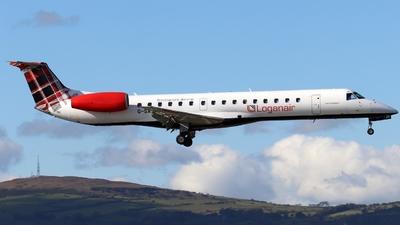 A picture of GSAJO - Embraer ERJ145MP - Loganair - © Ethan Allen