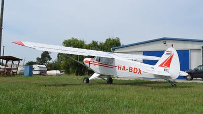 HA-BDX - Piper PA-18-150 Super Cub - Private