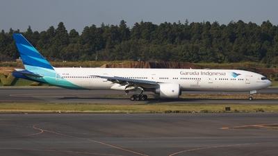 PK-GIG - Boeing 777-3U3ER - Garuda Indonesia