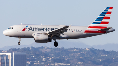 A picture of N831AW - Airbus A319132 - American Airlines - © Brandon Giacomin
