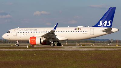 A picture of SEROS - Airbus A320251N - SAS - © Moritz Babl