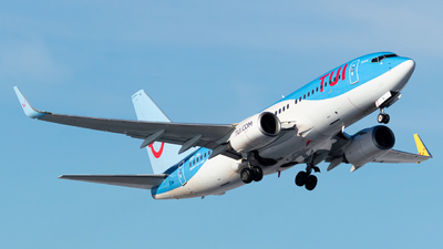A picture of OOJAL - Boeing 7377K2 - TUI fly - © Kyan Rossignol
