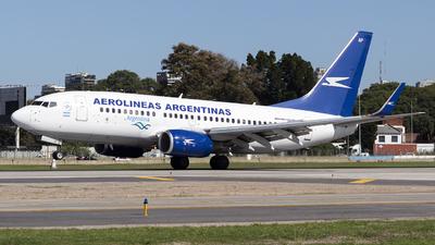 LV-CAP - Boeing 737-76N - Aerolíneas Argentinas
