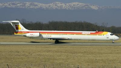 EC-FPJ - McDonnell Douglas MD-88 - Iberia