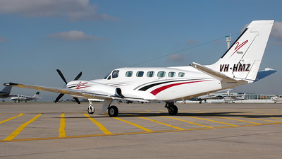 A picture of VHHMZ - Cessna 441 Conquest - [4410017] - © George Canciani