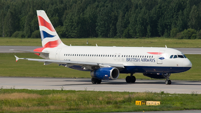 G-EUUM - Airbus A320-232 - British Airways